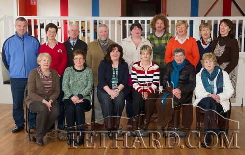 Photographed after completing an eight-week computer course at Fethard Convent Community Hall are Back L to R: Tony Maher, Theresa O'Brien, Pat Culligan, Larry Hopkins, Dionne Bramall, Michael Ryan, Ann O'Dea, Gabrielle Schofield, Mary Quinlan (tutor). Front L to R: Mary Cloonan, Judy Doyle, Margaret O'Neill (co-ordinator), Mary Butler, Carmel Rice and Margaret Ward.