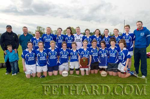 Fethard Ladies team who won the Junior C Football League Final in a close contest against Three Friars on Saturday, May 25.