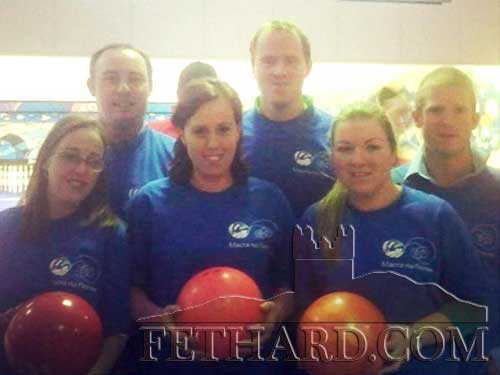Members of Fethard Macra at the National Bowling Finals in Tullamore recently. Back L to R: Kevin Byrne, Liam Cleary, Pat Murphy. Front L to R: Denise Vaughan, Emma Flynn and Claire Egan.