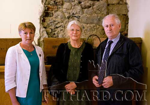 David Curran photographed at the recent Country Market gathering in Fethard L to R: Margaret Sweeney (Chairperson Irish Country Markets), Geraldine Mitchell author of 'Deeds Not Words: Life and Work of Muriel Graham' and David Curran, Fethard Country Markets