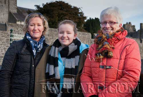 Photographed at the New Year's Meet in Fethard are L to R: Margaret O'Donnell, Orla O'Donnell and Eileen Connolly