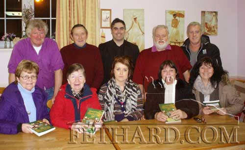 Helping to post this year's Newsletter to our Emigrants were Back L to R: Rory Walsh, Joe Keane, Ian O'Connor, Brendan Kenny, Seamie Hickey. Front L to R: Margaret Walsh, Carol Kenny, Jessica Conran, Margaret O'Donnell and Monica Hickey.