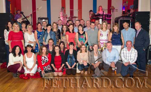 Fethard Patrician Presentation Leaving Cert Class of 1991 and Intermediate Cert Class of 1989 photographed at their Class Reunion held during the Fethard Gathering Festival in the Convent Community Hall