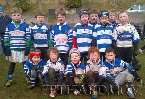 Fethard U8 rugby team photographed after their match on January 13.
