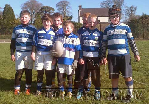 Fethard U9 rugby team who played Galbally and Kilfeacle
