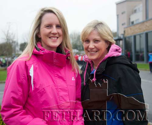 Taking part in the Operation Transformation 5K Walk in Clonmel were L to R: Pamela and Peggy Burke from Fethard.