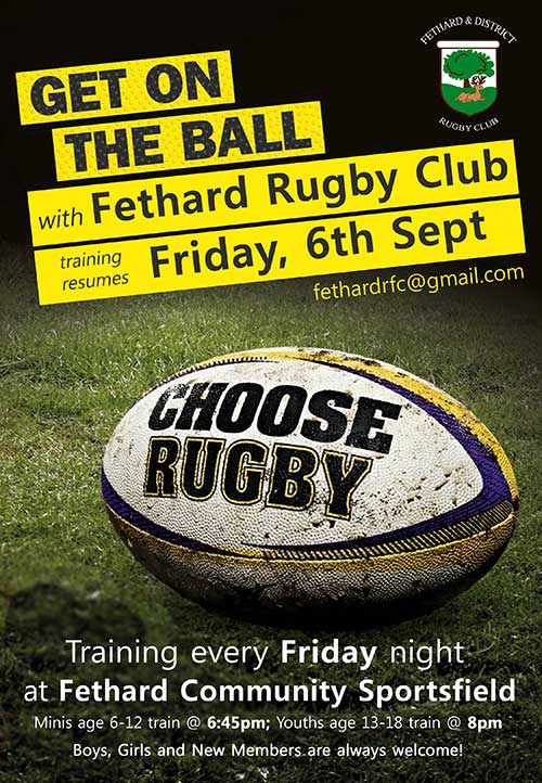 Fethard & District Rugby Club Training