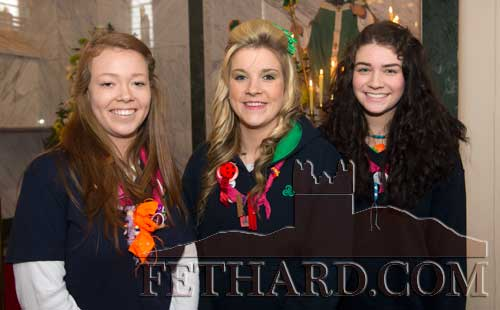 Guide leaders L to R: Molly Proudfoot, Molly O'Dwyer and Tara Horan.