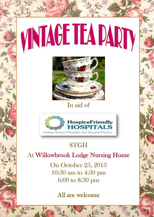 Vintage Tea Party at Willowbrook Lodge