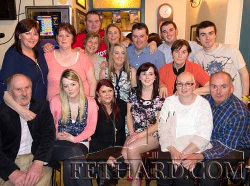 Gerard Lonergan's photographed with family members and friends at his 50th Birthday Party celebrated at Butlers Bar last weekend