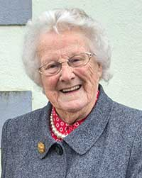 An old native of Fethard, Aggie Barrett, died on August 1, 2014, at the ripe old age of 91. Aggie was a kind, warm-hearted, generous person committed to her local community.