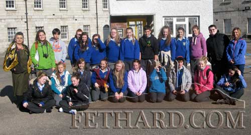 Students from Patrician Presentation Secondary School Fethard on their recent art history trip to Dublin