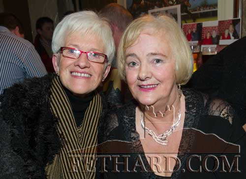 Sisters Eileen (Carey) Connolly and Maura (Carey) Tynan at Biddy's 80th Party
