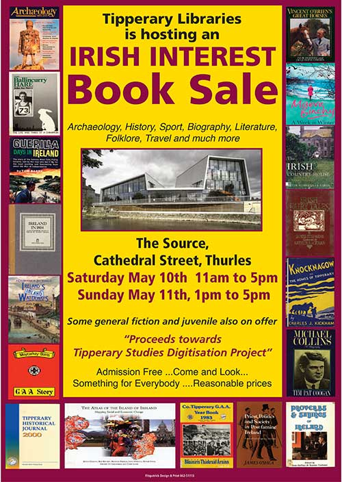 Irish Interest Book Sale at Tipperary Libraries Thurles