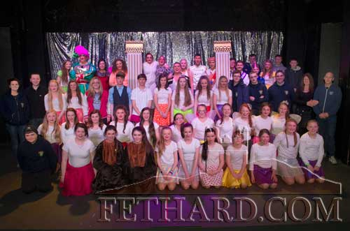 Patrician Presentation Secondary School cast of this year's production 'Cinderella'
