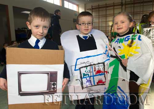 Pupils in their 'Energy' outfits at Holy Trinit