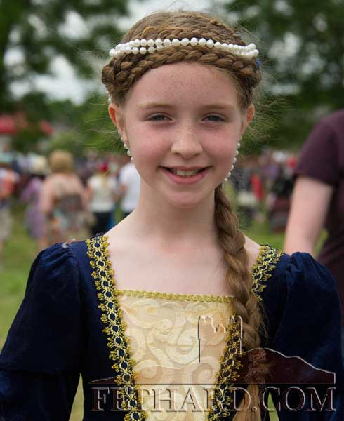Anna Quigley at the Fethard Medieval Festival
