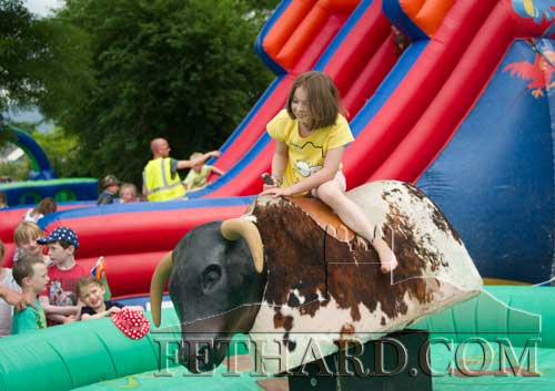 Amy Morrissey trying the 'Rodeo'