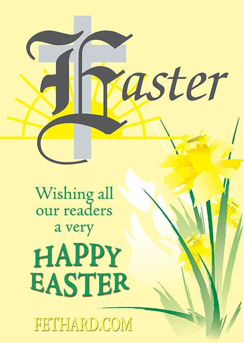 Happy Easter to all our readers from FETHARD.COM