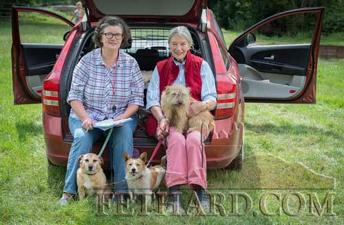 Jenny Butler and her mother Judie Butler photographed at the Grove Horse Trials on Sunday last at Grove, Fethard.