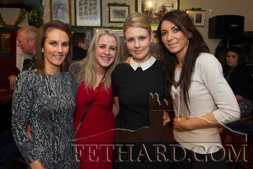 Enjoying the New Year in Butlers were L to R: Fiona Conway, Lily Maher, Audrey Conway and Jean Morrissey.