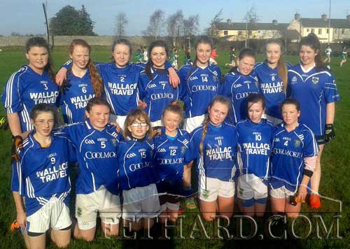 Fethard Secondary School U16½ ladies' football team that defeated Scoil Ruáin, Killenaule, and now progress to the Munster quarter-finals.