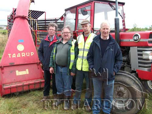 Photographed at the Ned Kelly Festival in Moyglass are L to R: Joe Trehy, Pat O' Loughnane, Seamus Barry and John O'Connell