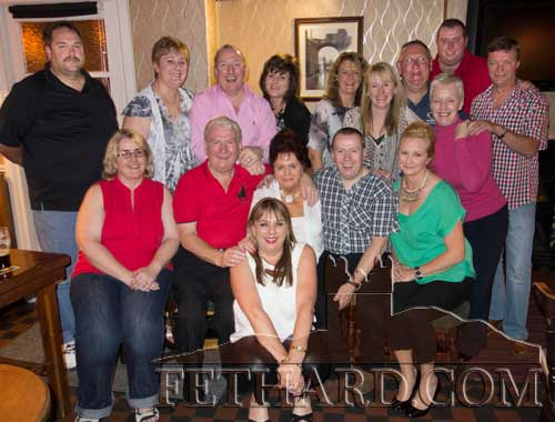 Members of the Carroll family photographed at a reunion at Lonergan's Bar in Fethard