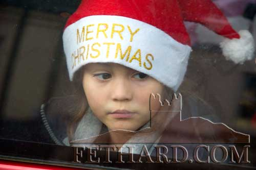 Giovanna Aguiar keeping a close eye out for Santa to arrive in Fethard