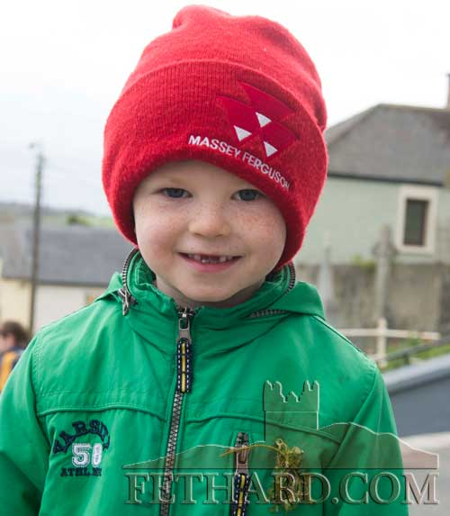 Criost�ir Sheehy at St. Patrick's Day Mass in Fethard