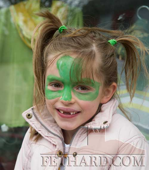 Lily Murphy in Fethard for St. Patrick's Day