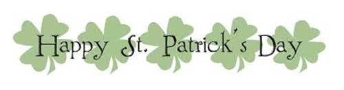Happy St. Patrick's Day from all in Fethard, Co. Tipperary