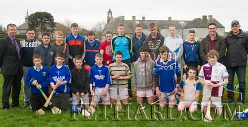 Tipperary senior hurling team captain, Brendan Maher, photographed at a training session at Fethard Patrician Presentation Secondary School.