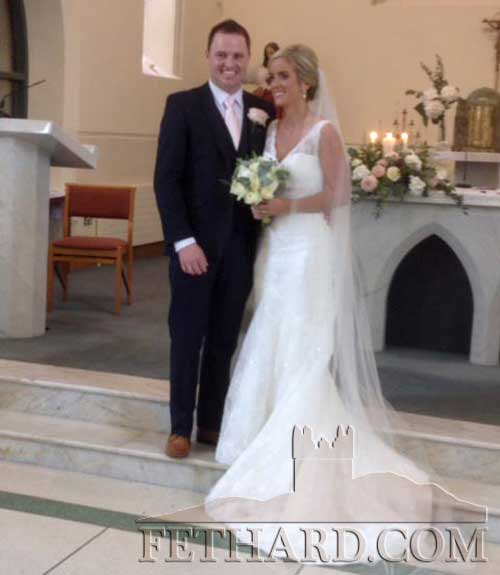 Congratulations to El Marie, daughter of Mr Benny and Mrs Mary Cottrell, Inishshannon, Co. Cork, and Eoin, son of Mr Sean and Mrs Judy Doyle, Strylea, Fethard, who were married on September 12, 2014, in Inishshannon Co. Cork,