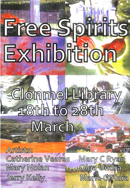 Free Spirits Exhibition in Clonmel