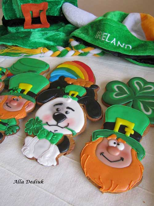 Saint Patricks Day Cookie Decorating class with Alla Dediuk on in the hall this Wednesday March 11th from 6pm to 7pm,Suitable for boys and girls age 4 upwards. €8 per child. Places must be pre booked with Alla on 086 0639127