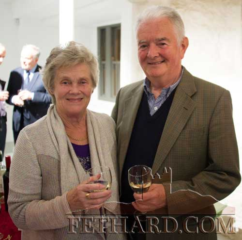 Maureen and John Whyte, Main Street, photographed at the Culture Evening at Fethard Tholsel. John and Maureen are also celebrating their 50th wedding anniversary.