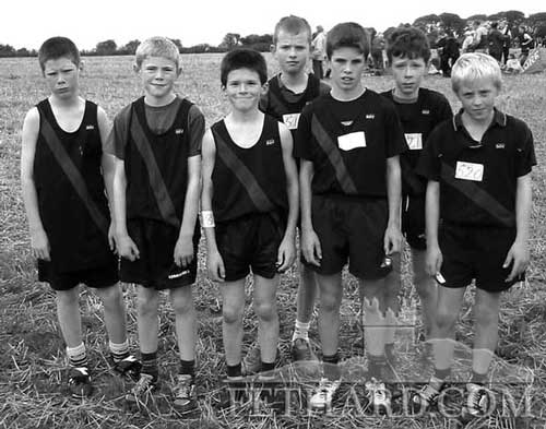 Fethard's finest athletes 2002 L to R: Ryan Laslett, Conor Prendergast, Lolo Trehy, Michael Costello, Shane Gorey, Kevin Quigley and Ben Walsh