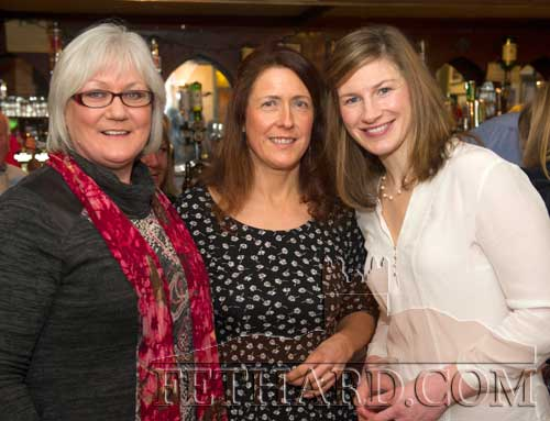 Photographed at the presentation of the Butler's Bar Fethard Annual Sports Achievement Award for 2014 are L to R: Mollie Standbridge, Bridget O'Dwyer and Nina Carberry, Ireland's leading female National Hunt jockey.