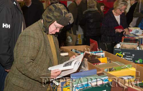 Michael Coleman, Cappamore, photographed at the 20th Annual Tipperariana Book Fair in Fethard.