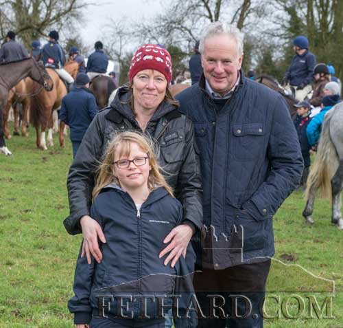 Photographed at the Tipperary Foxhounds charity cross country sponsored ride on Sunday, January 25, at Ballylusky, Drangan