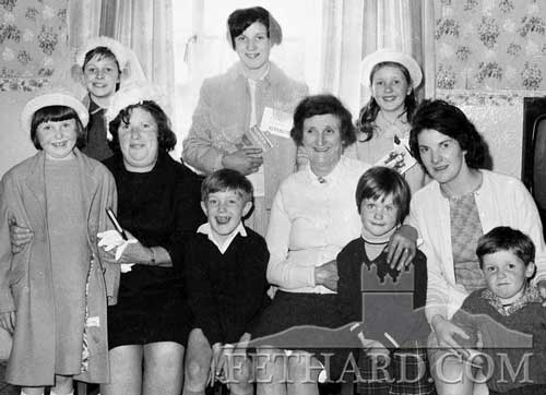 Sheehan families Fethard Confirmation 1968