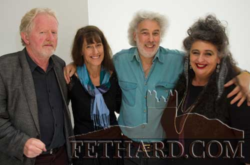 Photographed at the Culture Night at Fethard Tholsel are L to R: Terry Cunningham, Tania Opland, Mike Freeman and Pat Looby.