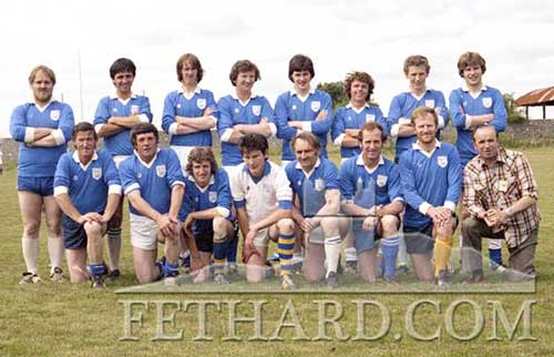 Fethard Festival local challenge team 1981 between present pupils and past pupils of the Patrician Brothers Secondary School.