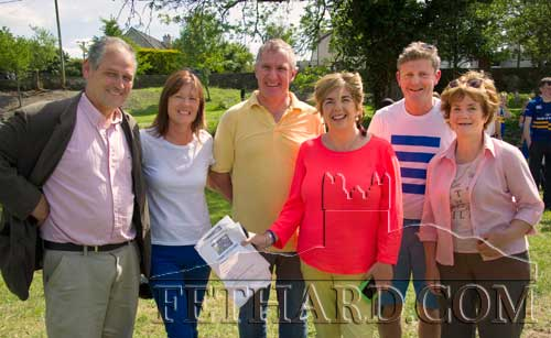 Members of the Fethard Business and Tourism Group who organised the Fethard Festival 'Community Fun Day' L to R: Peter Grant, Ann Moloney, Maurice Moloney, Gráinne Bagnell, Jimmy O'Sullivan and Marie Murphy.