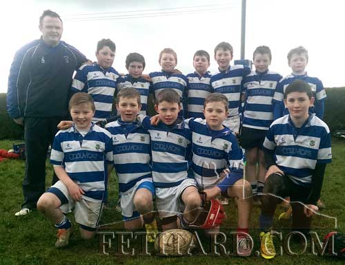 Fethard U8 rugby team at the Kilfeacle tournament