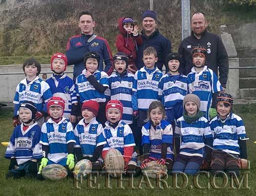 Fethard U8 rugby team ready to play in Clanwilliam