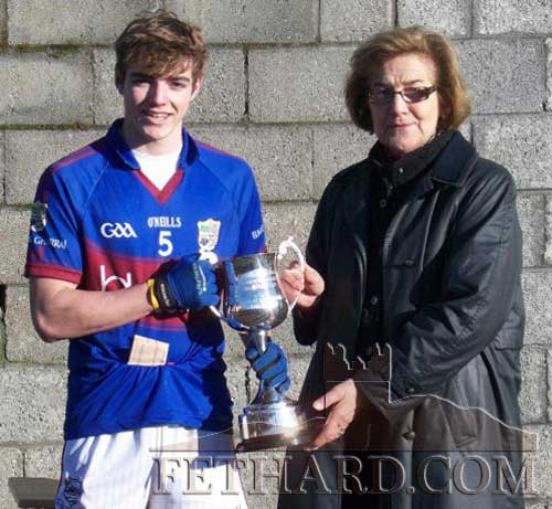 Well done to local man Joedy Sheehan who was captain of the victorious Presentation Ballingarry U18.5 school team who won the Munster D Football final in Clonmel beating Carrick CBS on a scoreline of 1-08 to 0-07. Joedy accepted the New Corn Sheáin Uí Mhaolomhnaigh on behalf of the team. They now advance to the All Ireland semifinal against the Ulster Champions on March 8 at a venue to be decided.