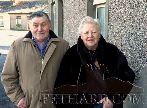 Martin and Nellie Meaney, owners of The Ramble Inn, St Johnstown, now closed for some years. What great memories down through the years. Never to be forgotten! (Photo by Larry Kenny)
