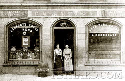 McCarthy's Hotel, Fethard, Co. Tipperary back in the 1900s . . . .